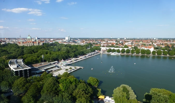Lago Maschsee Hannover