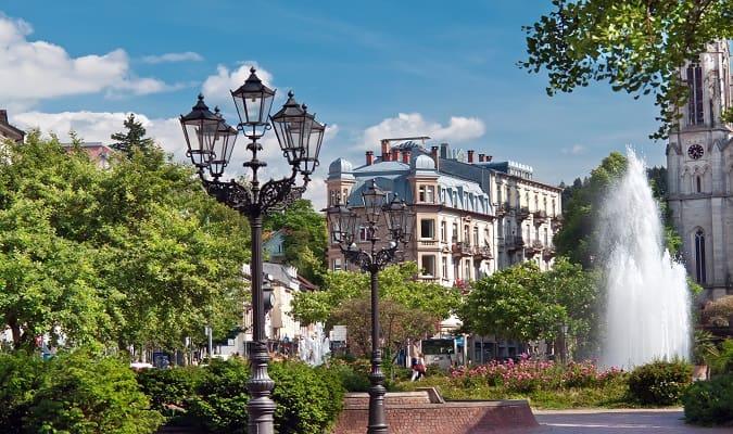 Parque em Baden Baden
