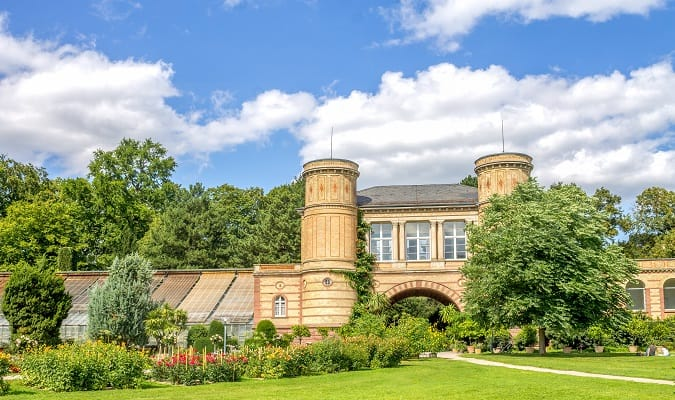 Karlsruhe - Jardim Botânico